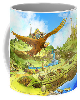 Flying On Polly Over Capira Coffee Mug by Reynold Jay