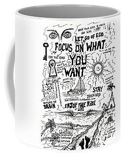 Focus On What You Want Coffee Mug