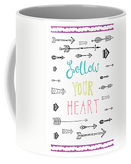 Follow Your Heart Coffee Mug