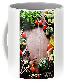 Food Ingredients Coffee Mug