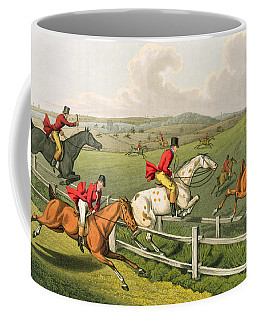 Fox Hunting Coffee Mug