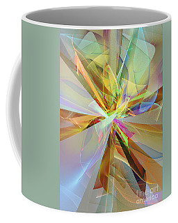Fractal Fantasy Coffee Mug by Klara Acel