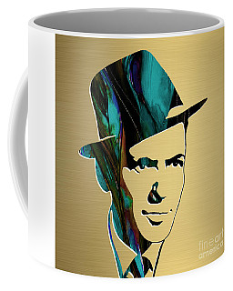 Frank Sinatra Gold Series Coffee Mug by Marvin Blaine