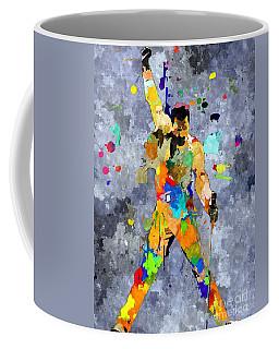 Freddie Mercury Coffee Mug by Daniel Janda