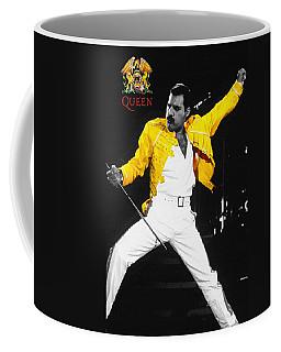 Freddie Mercury Live In Wembley1986    Coffee Mug