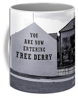 Free Derry Corner 7 Coffee Mug