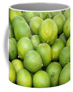 Fresh Green Lemons Coffee Mug