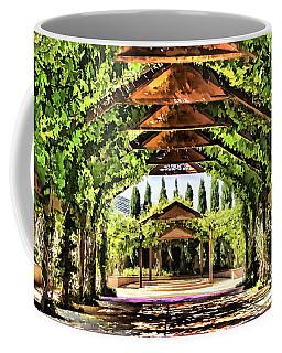 Coffee Mug featuring the painting Garden by Muhie Kanawati
