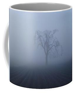 Garry Oak In Fog  Coffee Mug