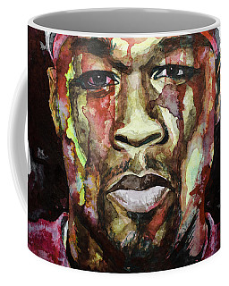 Coffee Mug featuring the painting Get Rich Or Die Tryin' by Laur Iduc