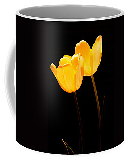 Glowing Tulips II Coffee Mug