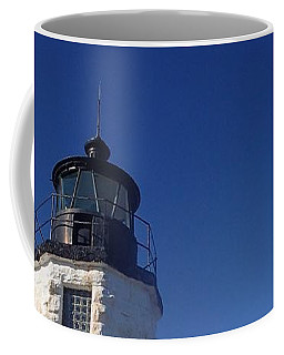 Goat Island Lighthouse Coffee Mug by Robert Nickologianis