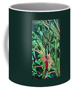 Coffee Mug featuring the mixed media Going Bananas by Deborah Boyd