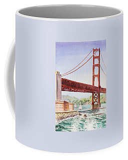 Golden Gate Bridge San Francisco Coffee Mug