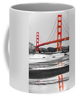 Golden Gate - San Francisco - California - Usa Coffee Mug by Luciano Mortula