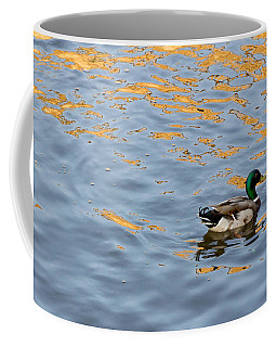 Golden Ripples Coffee Mug by Keith Armstrong