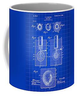 Golf Ball Patent 1902 - Blue Coffee Mug by Stephen Younts
