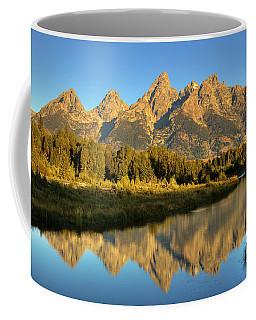 Coffee Mug featuring the photograph Grand Teton by Alan Vance Ley