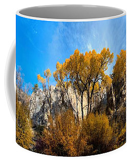 Coffee Mug featuring the photograph Guardians by David Andersen