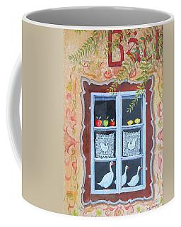 Halstatt Window Coffee Mug