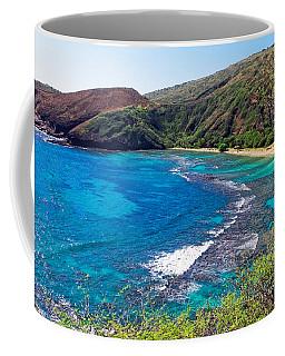 Coffee Mug featuring the photograph Hanauma Bay Hawaii by Lars Lentz