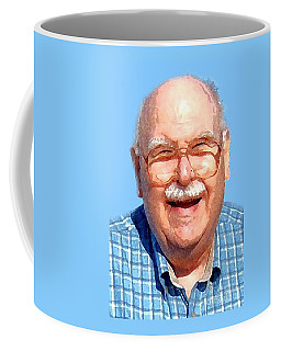 Happy Old Artist Coffee Mug