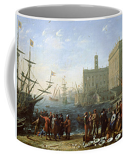 Harbor Scene Coffee Mug