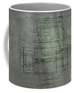 Harleigh Holmes Original Automobile Patent  Coffee Mug