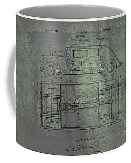 Harleigh Holmes Original Automobile Patent  Coffee Mug