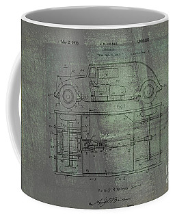Harleigh Holmes Automobile Patent From 1932 Coffee Mug