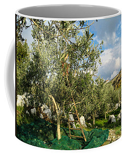 Coffee Mug featuring the photograph Harvest Day by Dany Lison
