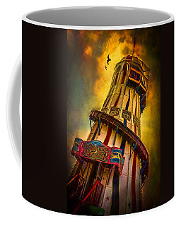 Coffee Mug featuring the photograph Helter Skelter by Chris Lord