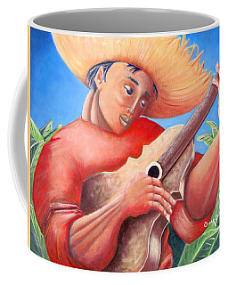 Coffee Mug featuring the painting Hidalgo Campesino by Oscar Ortiz