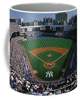 High Angle View Of A Baseball Stadium Coffee Mug