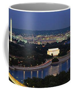 High Angle View Of A City, Washington Coffee Mug