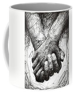 Holding Hands Coffee Mug