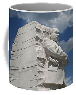 Coffee Mug featuring the photograph Honoring Martin Luther King by Cora Wandel