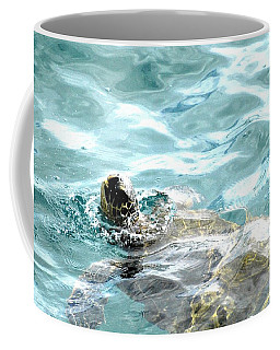 Kamakahonu, The Eye Of The Honu  Coffee Mug