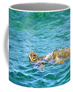 Honu Hawaiian Green Sea Turtle Coffee Mug