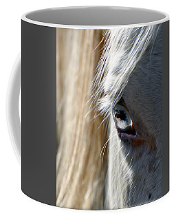 Horse Eye Coffee Mug by Savannah Gibbs