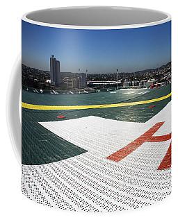 Hospital Helipad Coffee Mug