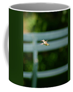 Hummer In Flight Coffee Mug