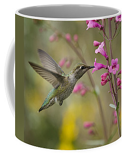 Hummingbird Heaven  Coffee Mug by Saija  Lehtonen