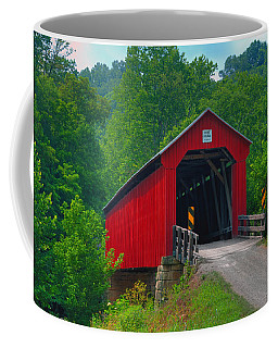 Hune Covered Bridge Coffee Mug