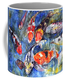 Hungry Koi Coffee Mug
