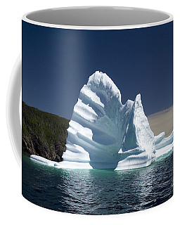 Coffee Mug featuring the photograph Iceberg by Liz Leyden
