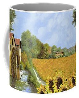 Il Mulino E I Girasoli Coffee Mug