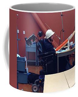 Coffee Mug featuring the photograph In Studio by Donald J Ryker III