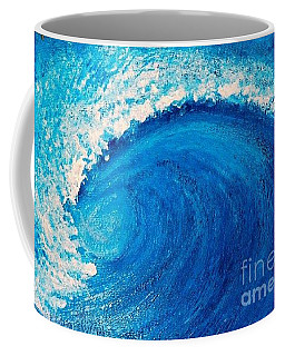 Inside The Wave Coffee Mug