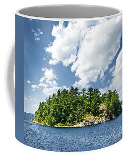 Island In Georgian Bay Coffee Mug